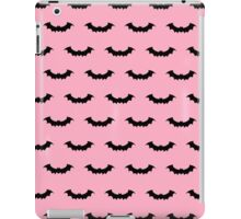 Cute Bats - Pink and Black iPad Case/Skin