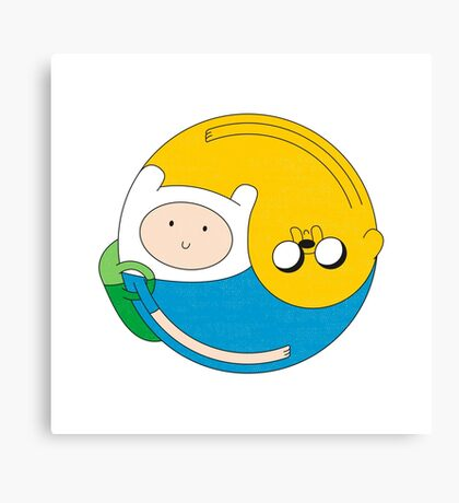 Adventurer Balance Canvas Print