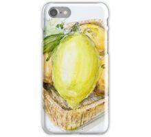 Fruit basket iPhone Case/Skin