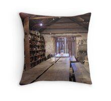 cellar Throw Pillow