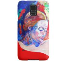 Emily and her Red Shawl Samsung Galaxy Case/Skin