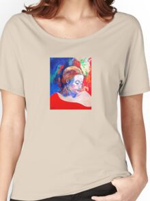 Emily and her Red Shawl Women's Relaxed Fit T-Shirt