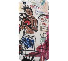 Basquiat V Warhol  iPhone Case/Skin