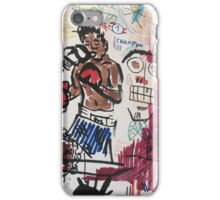 Basquiat V Warhol  iPhone Case/Skin