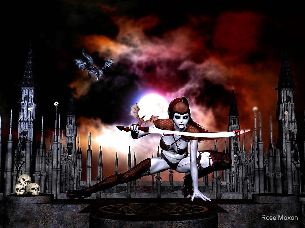 DragonWorld by Rose Moxon
