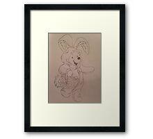Easter Winnie  Framed Print