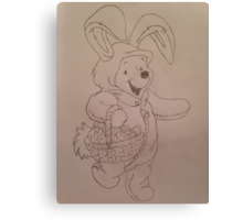 Easter Winnie  Canvas Print