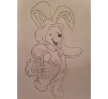 Easter Winnie  Photographic Print