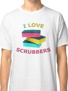 I Love Scrubbers Classic T-Shirt