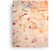 Pleased as Punch, oil and encaustic on canvas Canvas Print