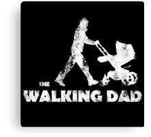 Walking Dad Canvas Print