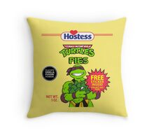 Teenage Mutant Puddin' Pies Throw Pillow