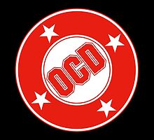 OCD Red Logo by popnerd
