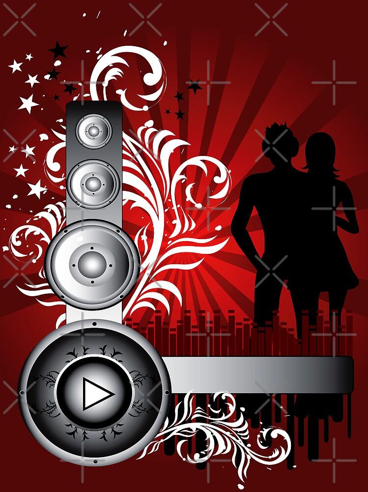 Grunge background by Olga Altunina