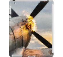 Spitfire FIRING UP - Fantastic Spitfire WWII art - world war 2 art / aviation art iPad Case/Skin
