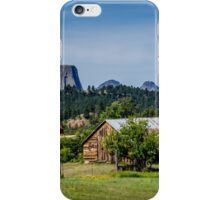 Devils Tower - Scenic Back Roads iPhone Case/Skin