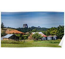 Devils Tower - Scenic Back Roads Poster