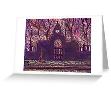 The Cemetery Greeting Card