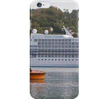 Regent of the Seas docked in the Caribbean iPhone Case/Skin