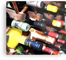 Alcohol Bottles! Metal Print
