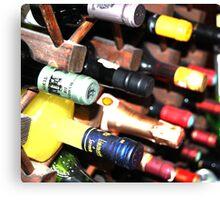 Alcohol Bottles! Canvas Print