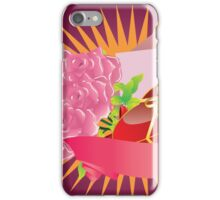 Gift box and roses iPhone Case/Skin