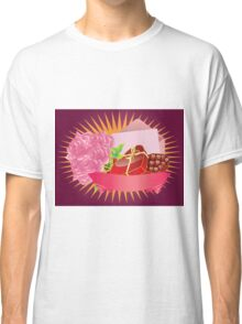 Gift box and roses Classic T-Shirt