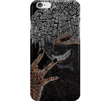 Kaneki Typography iPhone Case/Skin