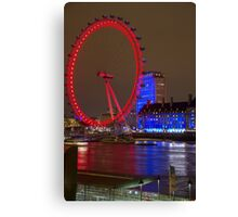 Westminster @ Night Canvas Print