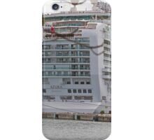Azura docked in St Lucia iPhone Case/Skin