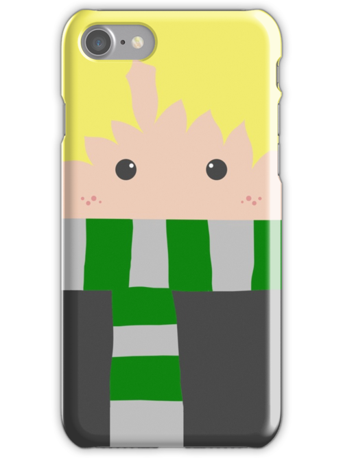 Draco Malfoy Iphone Case by Mhaddie