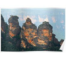 The Three Sisters - Katoomba NSW  Poster