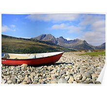 The Boat and Blaven Poster