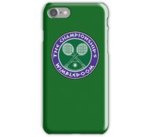 WIMBLEDOOM  iPhone Case/Skin
