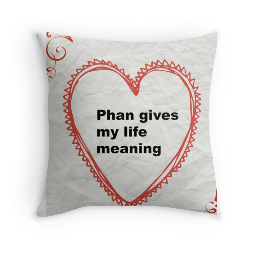 Throw Pillow Meaning :