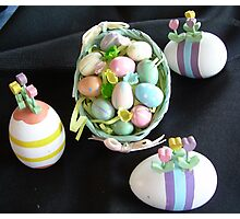 Happy Easter everyone.. it's Almost Here..... A Collection... Photographic Print
