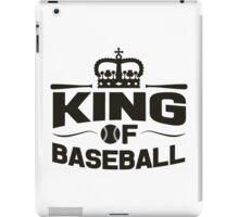 King of baseball iPad Case/Skin