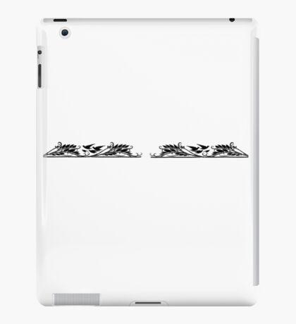 birds flying over lake iPad Case/Skin