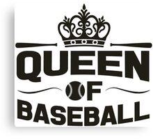 Queen of baseball Canvas Print