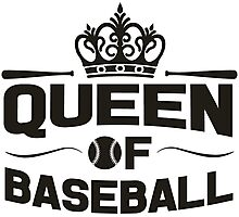 Queen of baseball Photographic Print