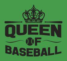 Queen of baseball Kids Clothes