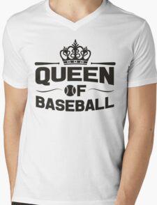 Queen of baseball Mens V-Neck T-Shirt