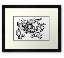 Flying. Framed Print