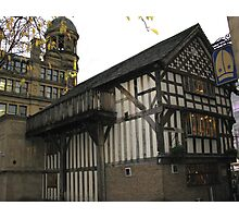 Old Wellington Inn, 1552, Manchester, England Photographic Print