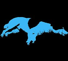 Blue Dog by Nathaniel Gillette