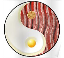 Breakfast Balance Poster