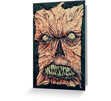 Necronomicon ex mortis Greeting Card