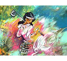 Lady Golf 02 Photographic Print