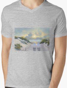 EAST END Mens V-Neck T-Shirt