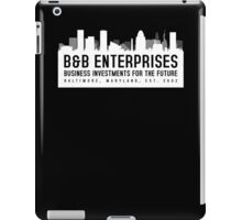 The Wire - B&B Enterprises - White iPad Case/Skin